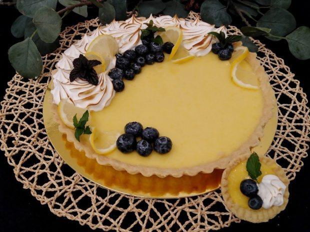 Tartaletka citronová maxi