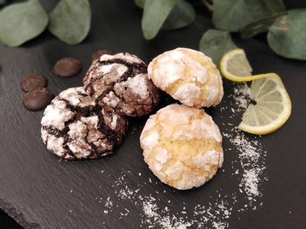 Crinklesky - praskané sušenky