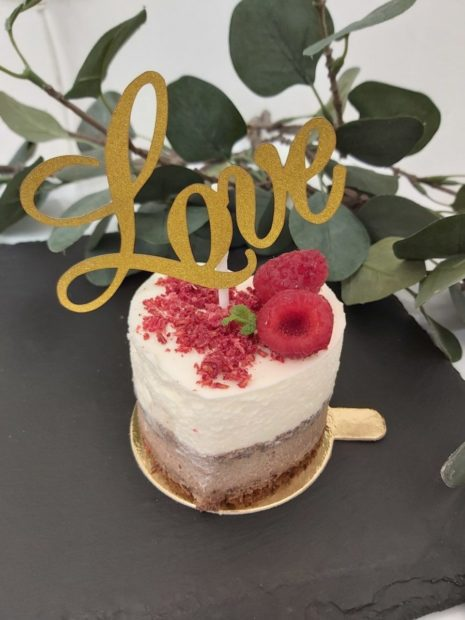 Smetanový mini-dortík