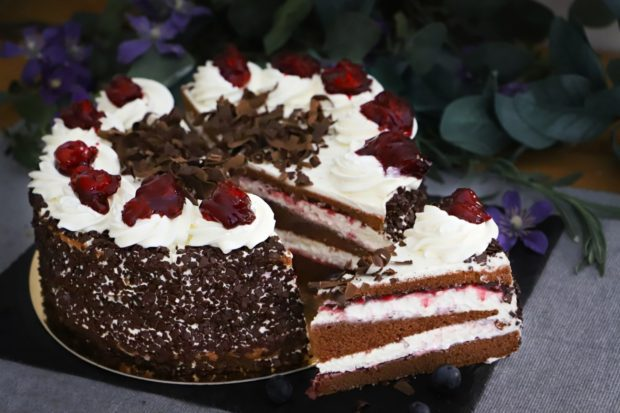 Schwarzwaldský dort