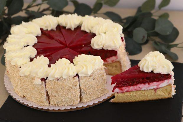 Ovocný dort - malinový