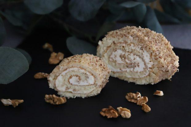 Roláda ořechová mini