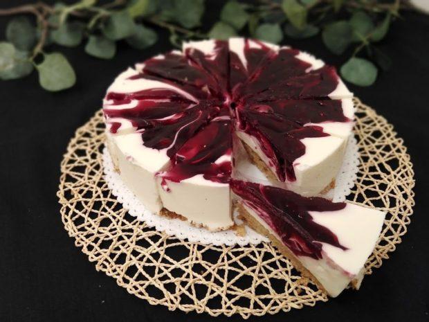 Cheesecake s višněmi